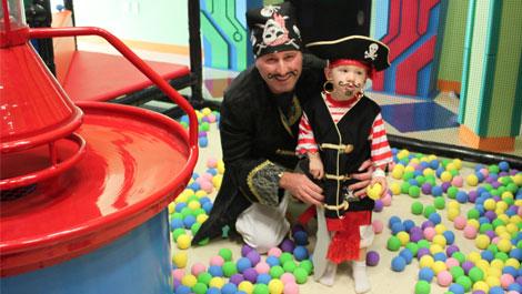 Ball Blaster Pirate