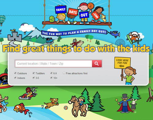 www.familydausout.com website preview Flippo's Kids Family Entertainment Center Fort Lauderdale FL and nearby areas