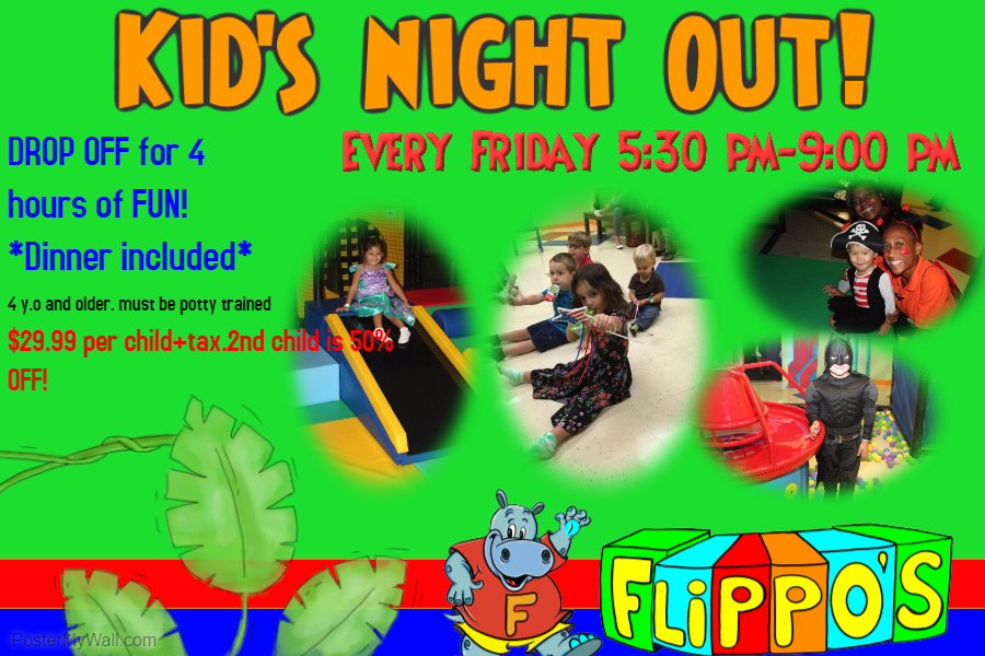 Flippo's Kid's Night Out