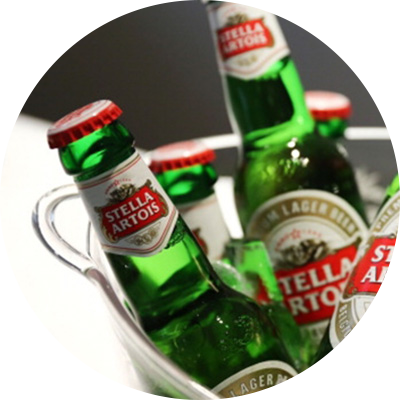 Stella Beer Bucket (5 bottles)